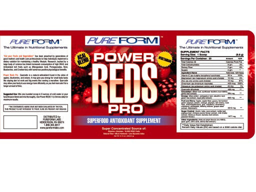 Pure Form Power Reds Pro