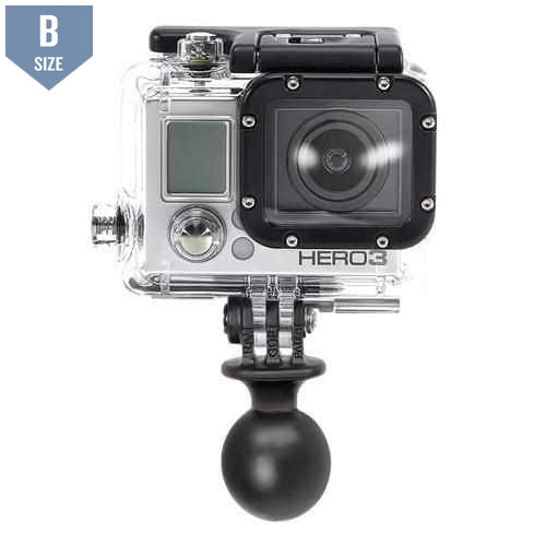 "RAM 1"" Ball Mount with GoPro Adapter (RAP-B-202U-GOP1)-Modest Mounts"