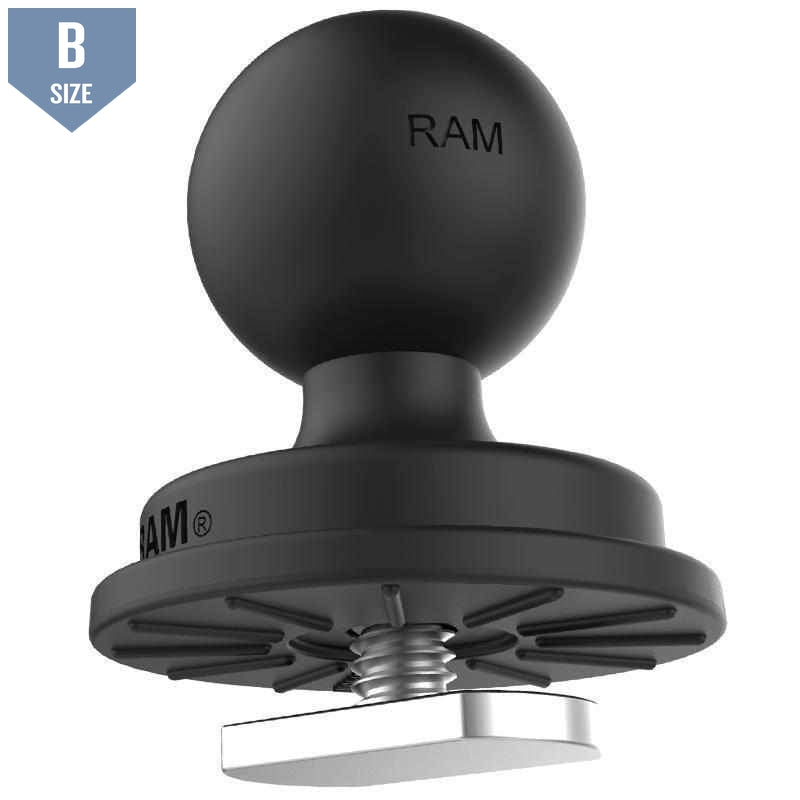 "RAM 1"" Track Ball With T-Bolt Attachment (RAP-B-354U-TRA1)-Modest Mounts"