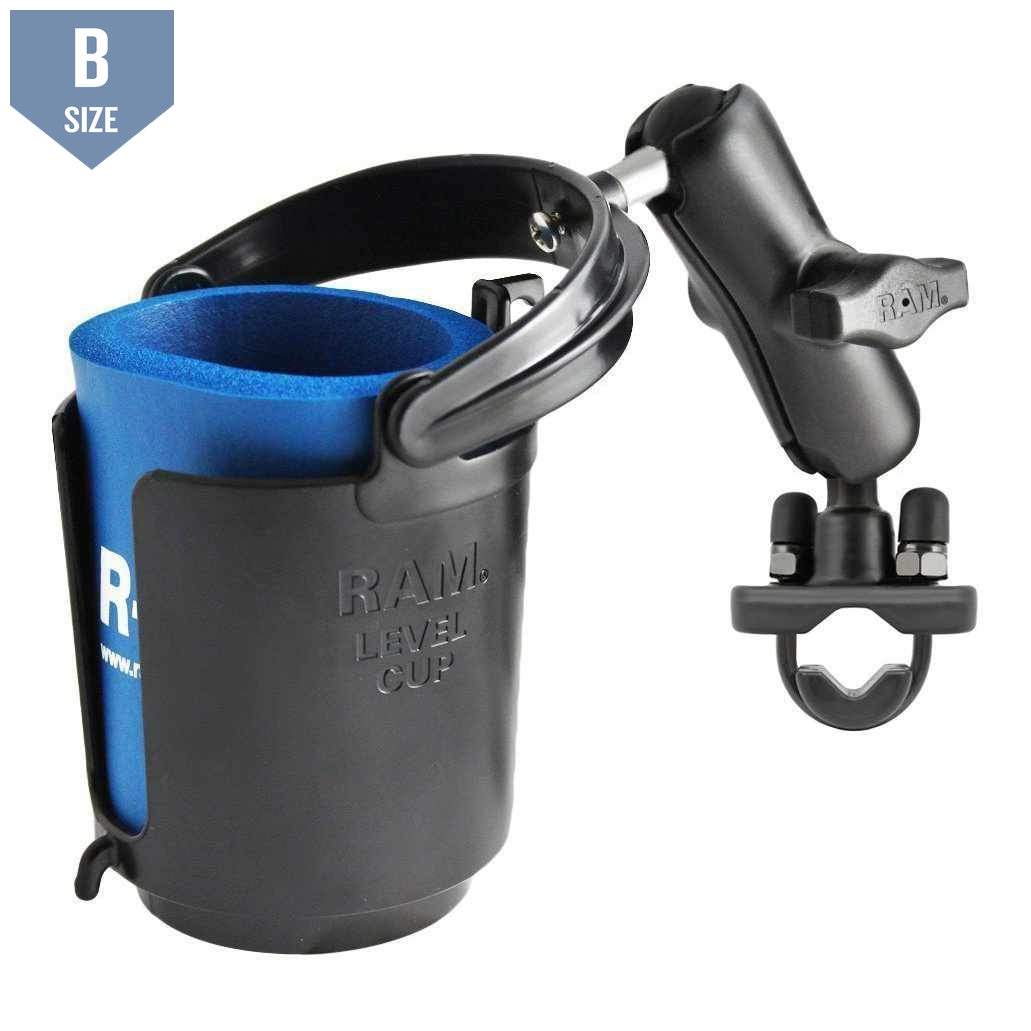 RAM Cup Holder Handlebar or Rail Mount (RAM-B-132RU)