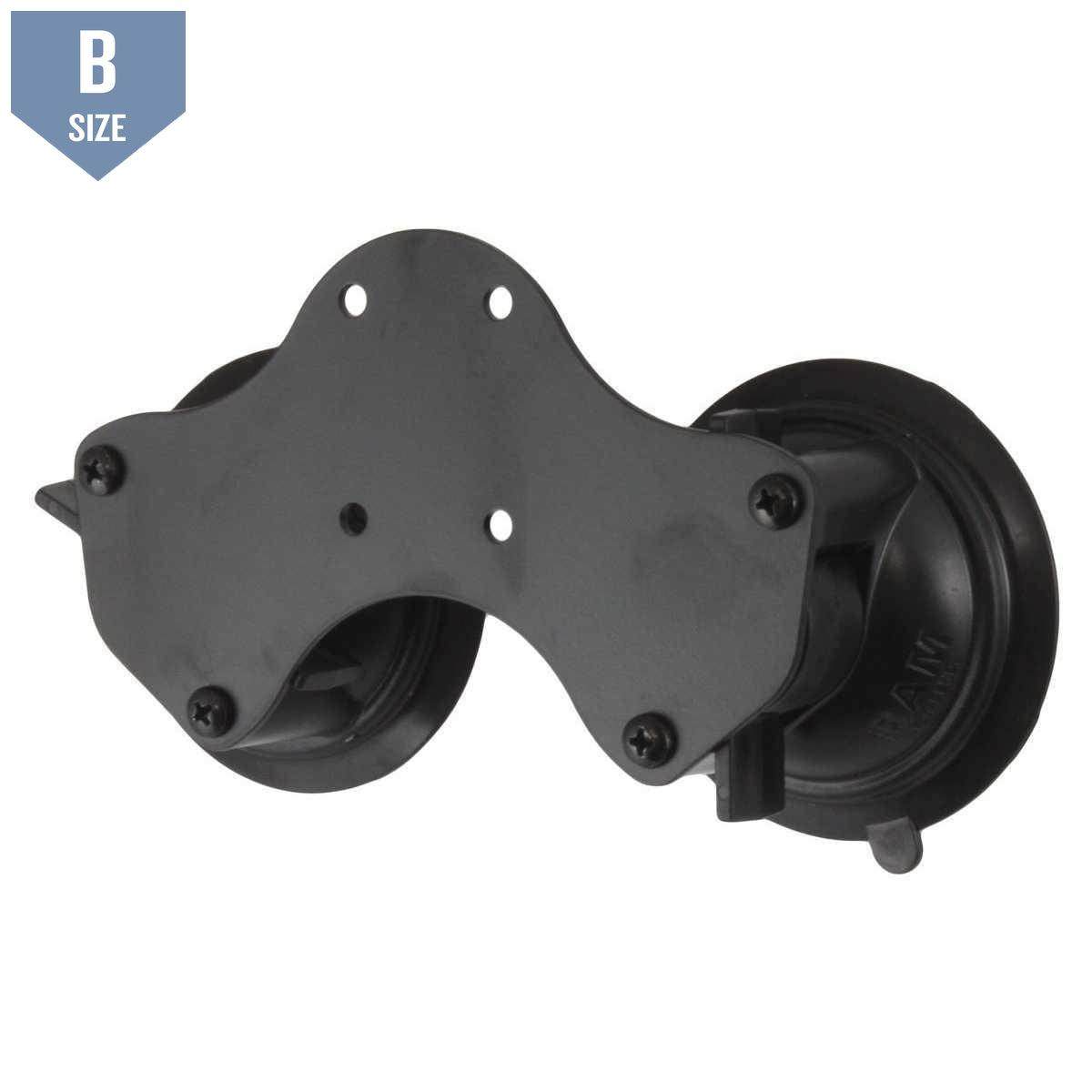 RAM Double Suction Cup Base (RAM-B-189BU)-Modest Mounts