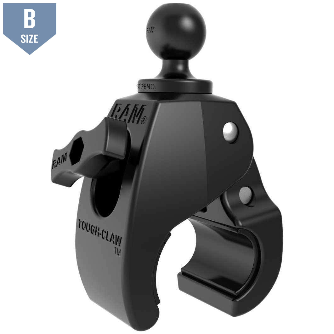 "RAM Medium Tough-Claw™ w 1"" Ball (RAP-B-404U)-Modest Mounts"