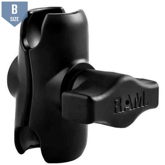 RAM Short Double Socket Clamp Arm B Size (RAM-B-201U-A)