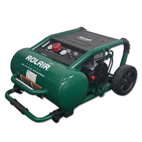 Rolair JC25WH 2HP ultra quiet oil free air compressor
