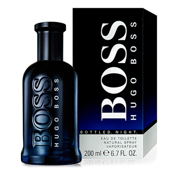 Men's Perfume Boss Bottled Night Hugo Boss-boss EDT
