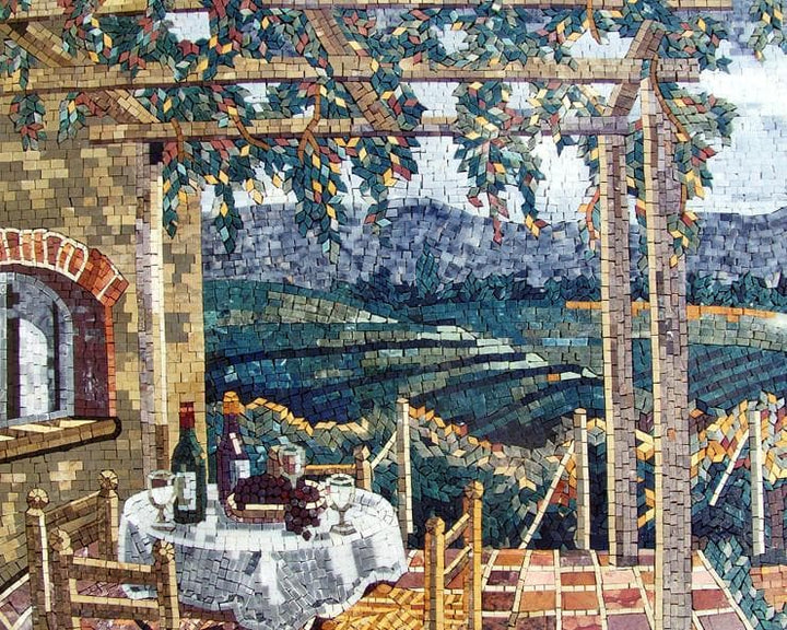 Mosaic Art For Sale - Villaggio Italiano