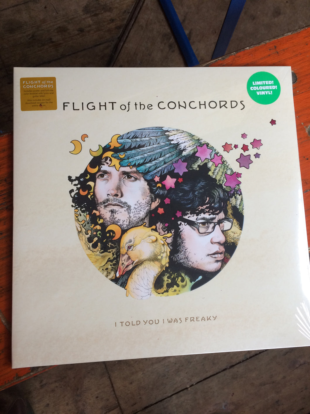 Flights Of The Conchords - I Told You I Was Freaky