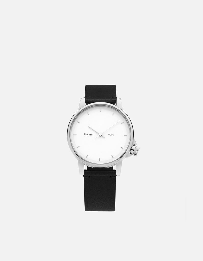 Miansai - M24 II White Black Leather