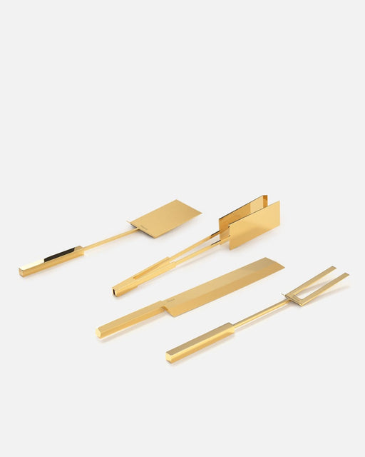 Grill Set, polished, 14k Gold | Dry Goods | Miansai
