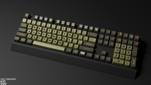 2020 Commando Keycap Set