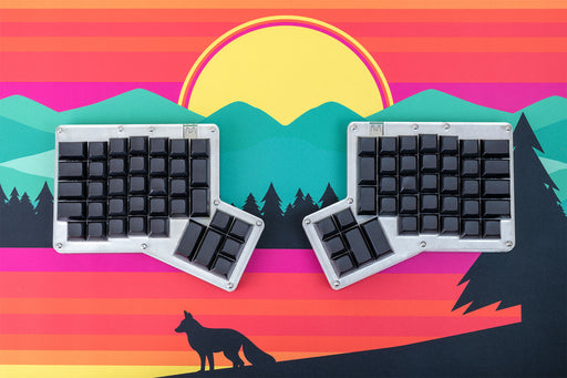 Alpaca Keyboards Ergodox 76 Hot Dox