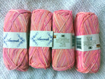 SWTC Amerah Luxury Silk Yarn Lot of Two 50 gm balls Color Hi Liter