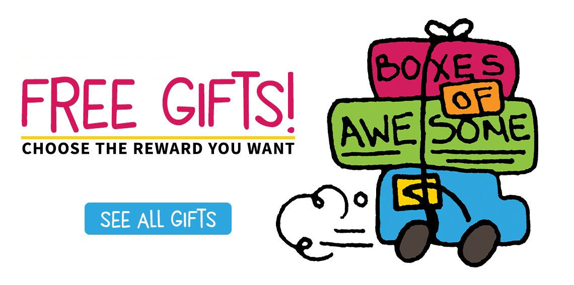 Free Gifts! Choose the reward you want!