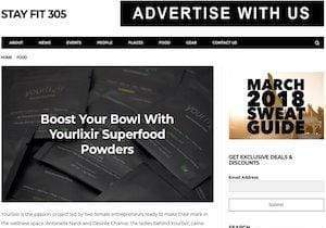 Stay Fit 305: Boost Your Bowl with Yourlixir Superfood Powders