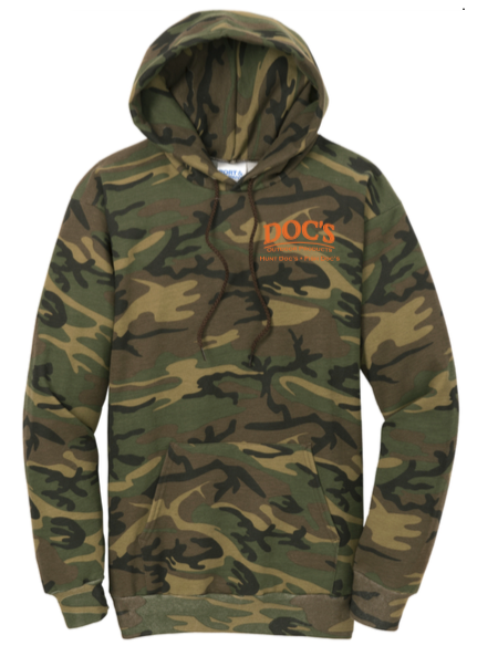 Doc's Camo Hoodie *PRE-ORDER*