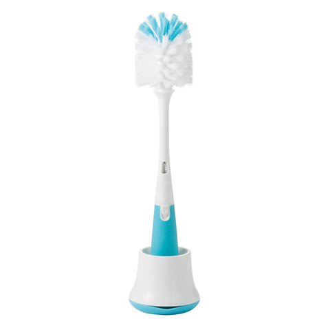 oxo tot Bottle Brush with Stand - Blue