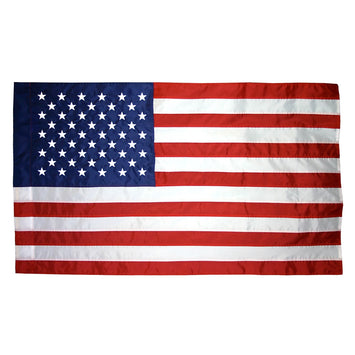 U.S. Indoor Flag - No Fringe