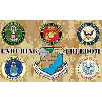 3'x5' Enduring Freedom Polyester Flag