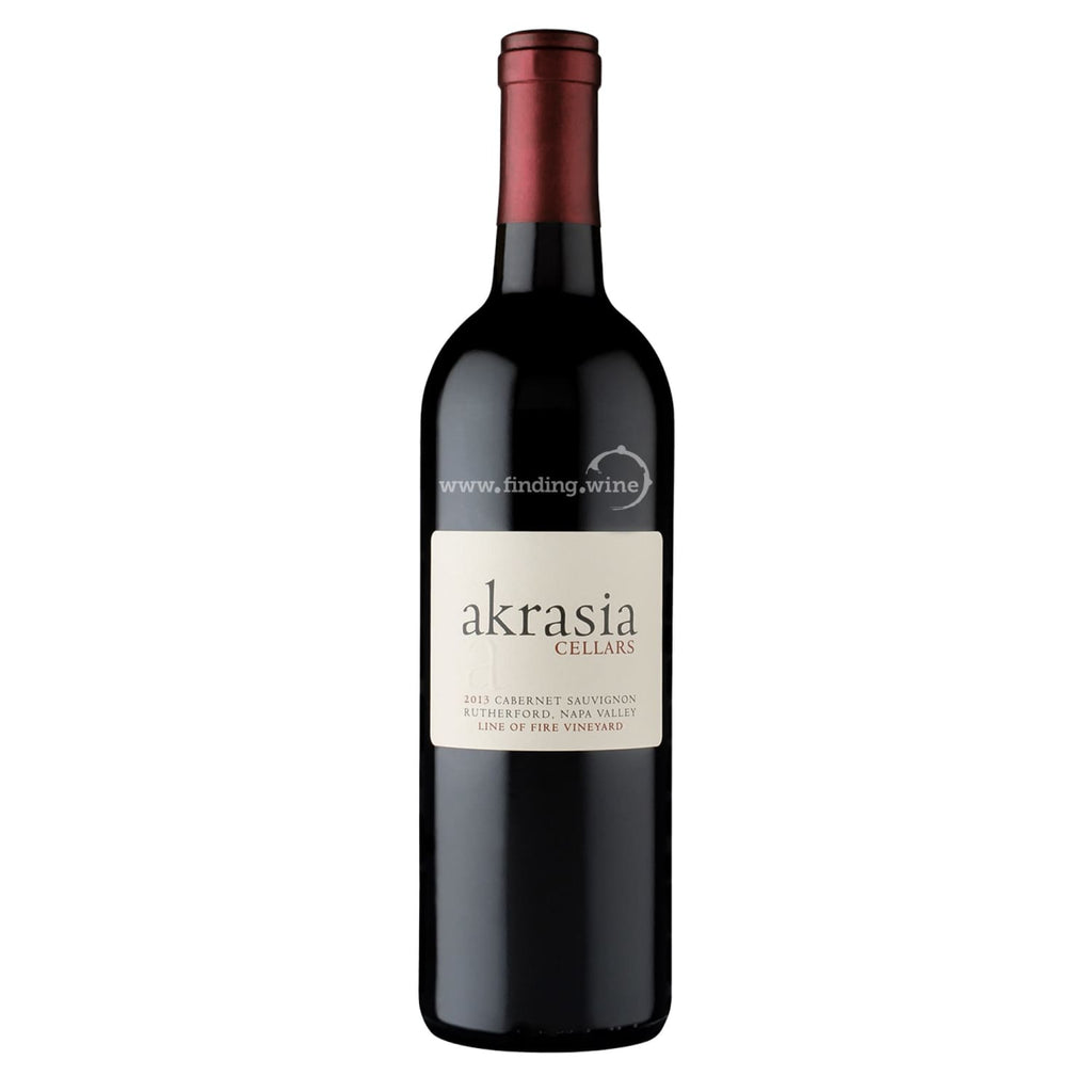 Akrasia Cellars _ 2013 - Line of Fire _ 750 ml. - Red - www.finding.wine - Akrasia Cellars