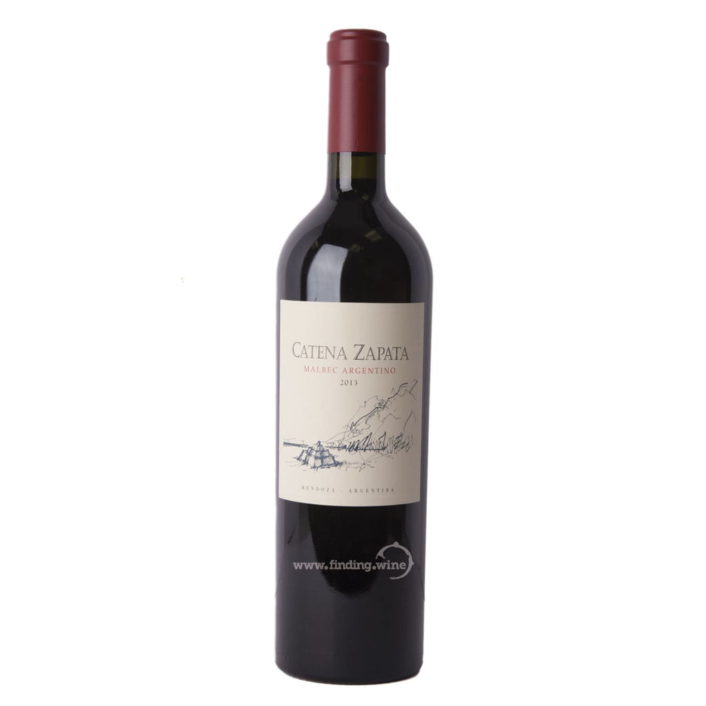 Catena Zapata _ 2013 - Malbec Argentino _ 750 ml. - Red - www.finding.wine - Catena Zapata