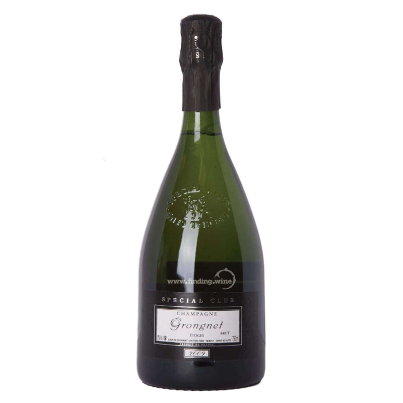 Champagne Grongnet _ 2009 - Special Club Brut Millesime _ 750 ml - Sparkling - www.finding.wine - Champagne Grongnet