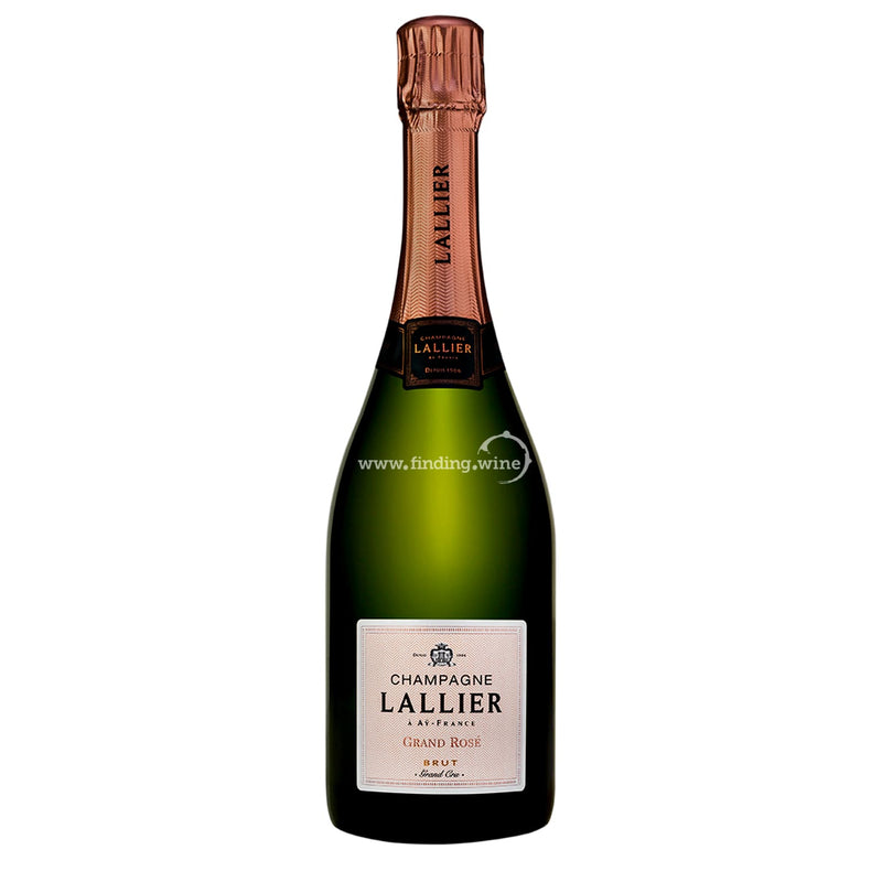 Champagne Lallier _ NV - Grand Rose Brut Grand Cru _ 750 ml. - Sparkling - www.finding.wine - Champagne Lallier