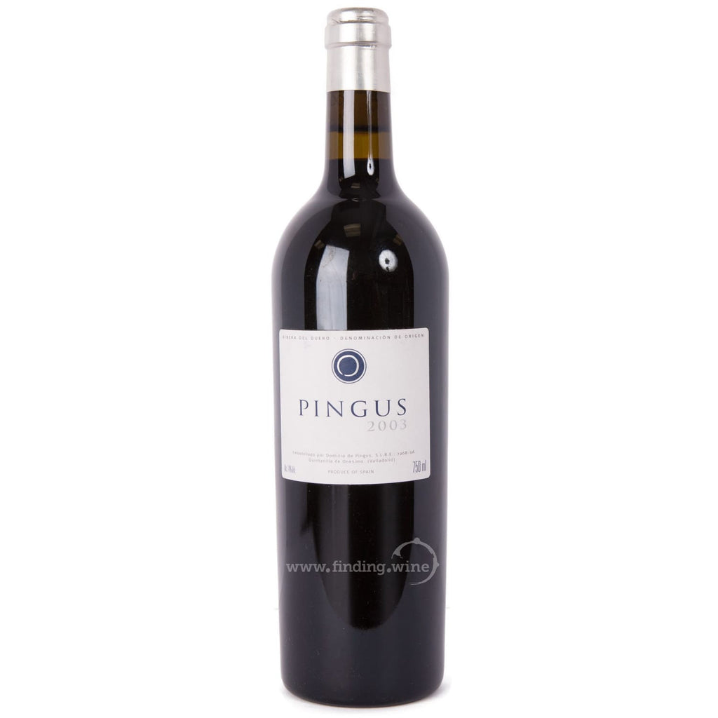 Dominio de Pingus _ 2003 - Pingus _ 750 ml. - Red - www.finding.wine - Dominio de Pingus