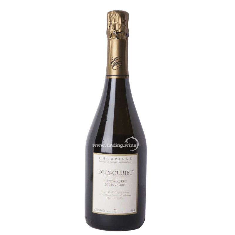 Egly-Ouriet _ 2006 - Brut Grand Cru Millésime _ 750 ml. - Sparkling - www.finding.wine - Egly-Ouriet
