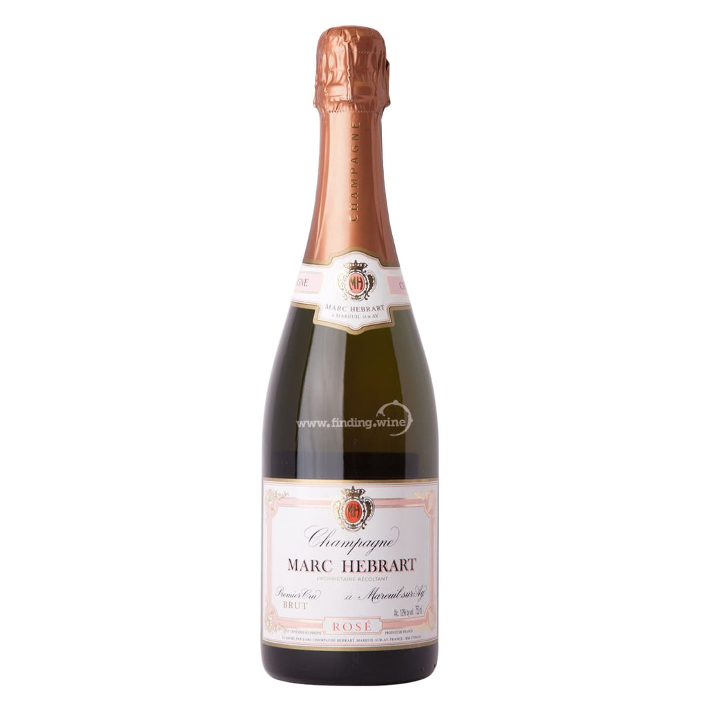 Marc Hebrart _ NV - Rose Brut 1er cru _ 750 ml. - Sparkling - www.finding.wine - Marc Hebrart