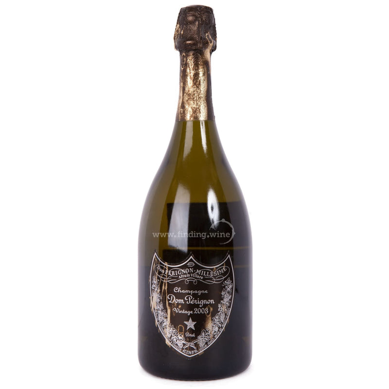 Moet & Chandon _ 2003 - Dom Perignon David Lynch Limited Edition _ 750 ml. - Sparkling - www.finding.wine - Moet & Chandon