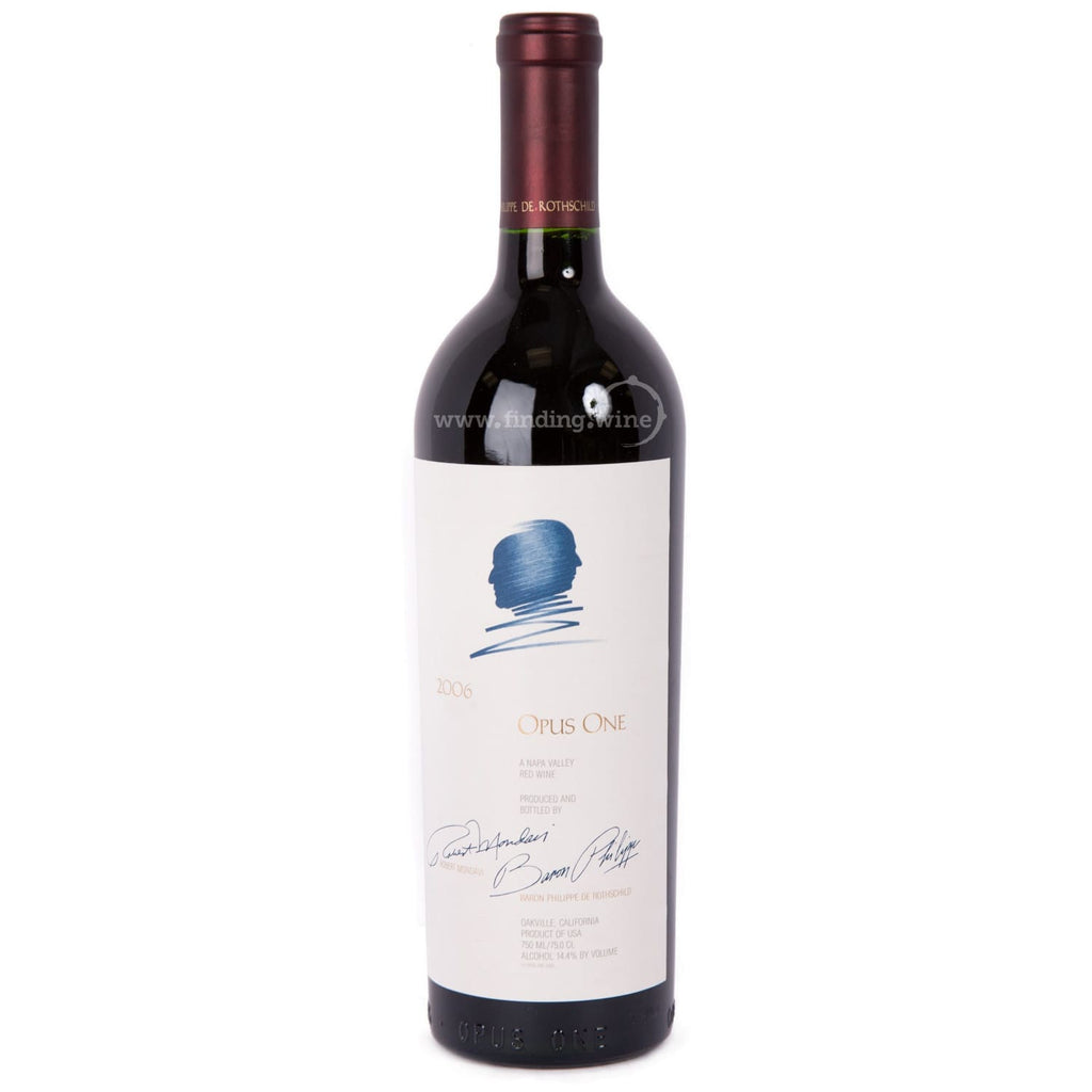 Opus One Winery _ 2006 - Opus One _ 750 ml. - Red - www.finding.wine - Opus One Winery