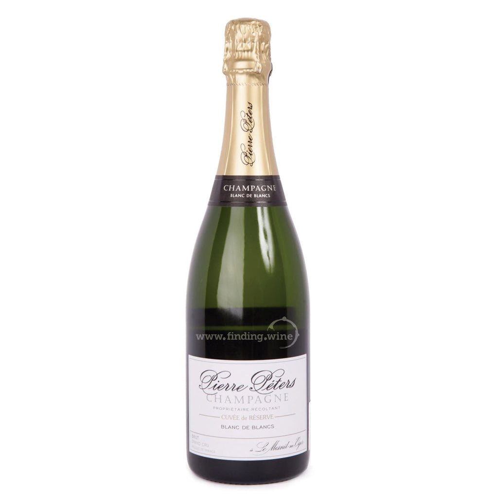 Pierre Peters _ NV - Cuvée de Réserve Brut Blanc de Blancs _ 750 ml. - Sparkling - www.finding.wine - Pierre Peters