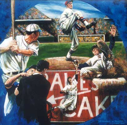 The Elements of Baseball fine art print