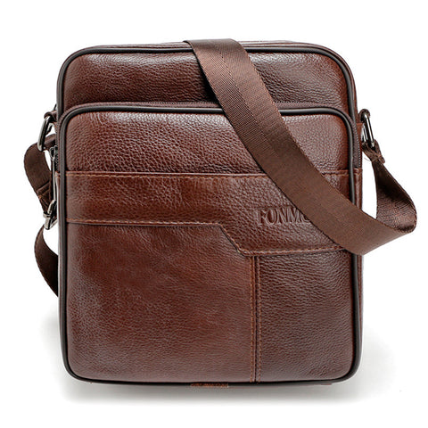 High quality men messenger bags cowhide genuine leather  crossbody