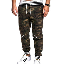 Mens Joggers Camouflage Sweatpants