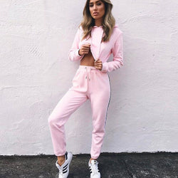 Lovely and Free 2 Piece Women Tracksuit