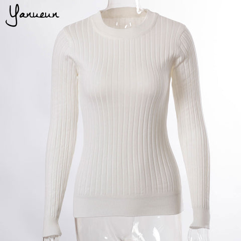 Wool Pullover Knitted Casual Sweater