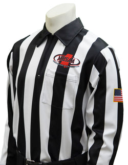 USA181MS- Smitty USA - Dye Sub Mississippi Football Long Sleeve Shirt