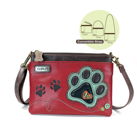 Chala Mini Crossbody - Dog Paw