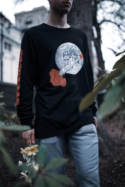 Roses Rocket Long Sleeve T-Shirt
