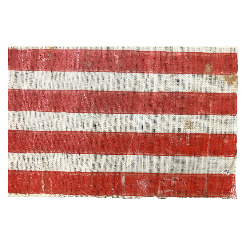 Antique Vintage 36 Star Parade Flag, Civil War Era - Nevada State Hood