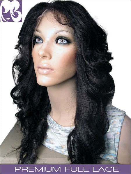 FULL LACE WIG: Kim Kardashian Professionally Cut Malaysian Virgin Remy
