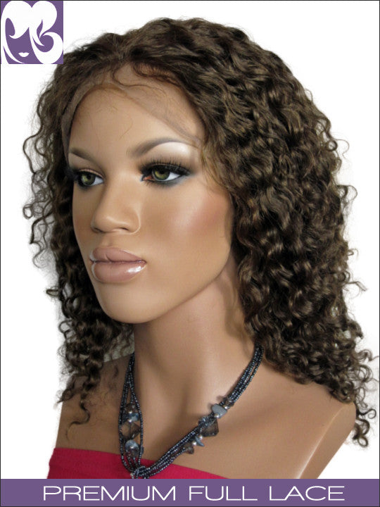 FULL LACE WIG: Keisha- Curly Indian Remy Full Lace Wig