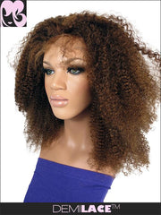 LACE FRONT WIG: Josephine Afro Kinky Curly Indian Remy