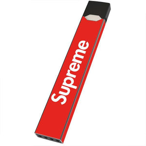 supreme box logo simple juul wrap juul skin