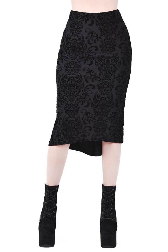 Killstar Bloodlust Pencil Skirt