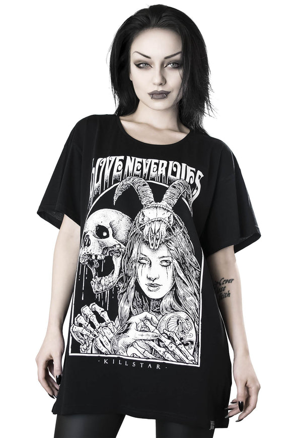 Killstar Love Never Dies Relaxed Top