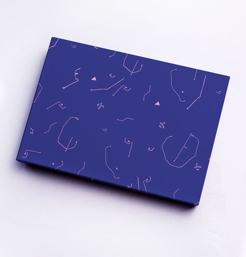 BLUE LINE LADIES GIFT WRAP