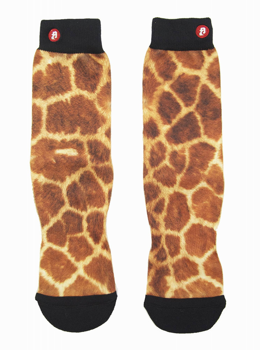 FOOL'S DAY Giraffe Athletic Socks