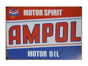 Ampol Australia Tin Sign (50cm x 35cm)